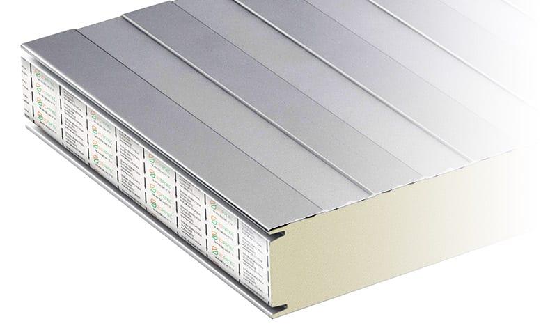płyty warstwowe izowall PIR profilowanie liniowe