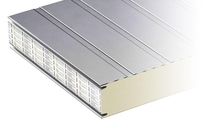 płyta warstwowa izowall PIR profilowanie rowkowe