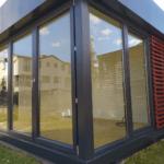 mobilny pawilon wypoczynkowy do ogrodu lub samotnię